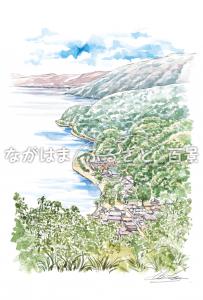 菅浦の湖岸集落
